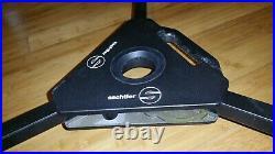 Sachtler 7063 DV 75 Dolly for Pro Video Tripod FSB 6 8 12 DA-75 Studio Pedestal