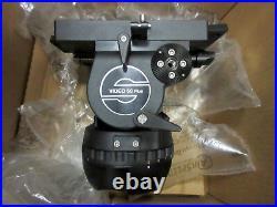 Sachtler Video 60 Plus Studio Fluid Head (Flat Base) Supports 35-145 lbs #6001