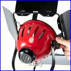 Selens 800W Dimmable Video Studio Red Head Lamp + Bag + Light Stand Lighting Kit