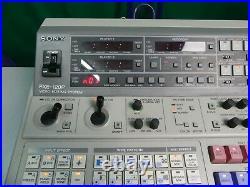 Selten! SONY FXE-120P Video Audio Mischer Editing Steuerung Studioauflösung