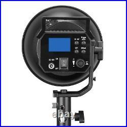 Sokani X60 COB 80W LED Video Light 5600K Outdoor Studio Camera Light Kit +Remote
