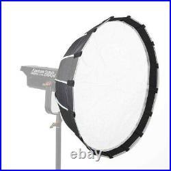 Sokani X60 V2 COB Light LED Video Studio Spotlight + Aputure Light Dome Mini II