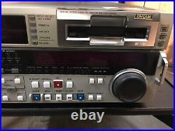 Sony DSR-2000P DVCAM Mini DV Digital Video Studio Cassette Recorder Editor #A