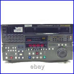 Sony DVW-A500 Digital / Analog Studio Betacam Digital Video Cassette Recorder