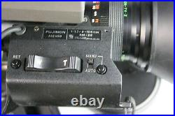 Sony DXC-M3 Studio Tube Video Camera with Lens, Case, Viewfinder, Battery, Cable