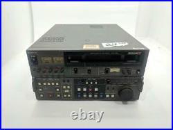 Sony PVW-2800 BETACAM SP Studio Editing Video Cassette Recorder Player WORKING