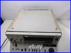 Sony U-Matic Videocassette Recorder VO-5800 RFU-634 Video Editor Studio Unit
