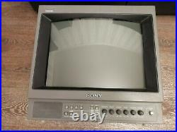 Sony Video Monitor Professional Studio Retro / Vintage PVM-1450QM