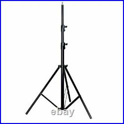 Studio 45cm 300W LED Ring Light Stand Photo Video Makeup Beauty with Mount Kit