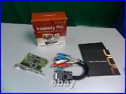 Studio Capture Karte HDMI + Analogvideo Blackmagic Design Intensity Pro PCI-e