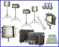 Studio Light Panel Fluorescent 55W 4-6 Bank Flood Lighting TV Photo Video Osram