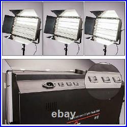 Studio Light Panel Fluorescent 55W 6 Bank Flood Lighting TV Photo Video Osram UK
