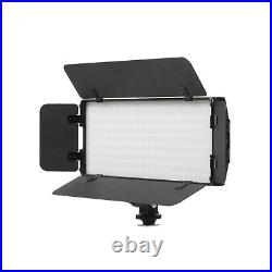 Studio PT-30B LED Video Light Panel With Barndoor 3200-5600K Dimmable Photography