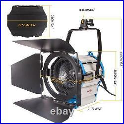 Studio Spotlight 1000W Dimmable Professional Fresnel Tungsten Video Lighting Kit