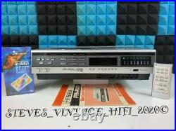 Studio Standard By Fisher Fvh-p530 Video Cassette Recorder +remote +manual L@@k