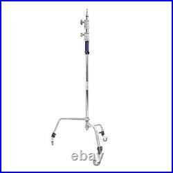 Turtle-Based C-Stand with Caster Wheels Studio Video light Height 300cm 5/8inch