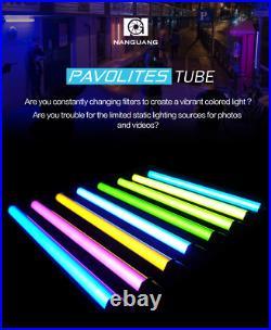 UK 4pcs Kit Nanlite Pavotube 30C 117cm RGB LED Video Lights Studio Camera Lights