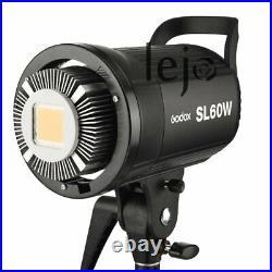 UK Godox SL 60W 5600K Studio Photography LED Video Light Lightiing f DV Camera