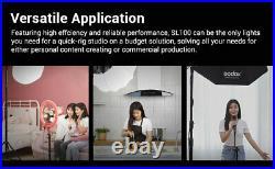 UK Godox SL100Bi 100W Bi-color Led video Continuous Light for small studio shoot
