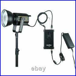 UK Godox VL150 150Ws 5600K Compact Studio LED Video Light Bowens With APP Remote