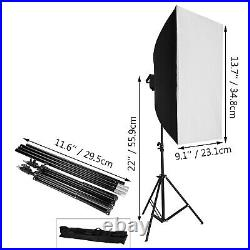 Video Photo Studio Continuous Lighting Stand Kit Photography Amateur 3375W