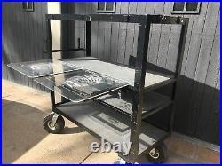 Video/sound/ Grip Studio Utility Cart 55x55x22 On Set Cart L. A. Pick Up Only