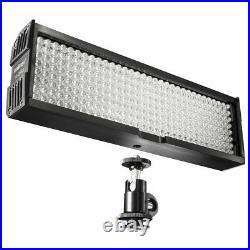 Walimex pro LED Videoleuchte mit 256 LED Kameralicht Studiolicht dimmbar