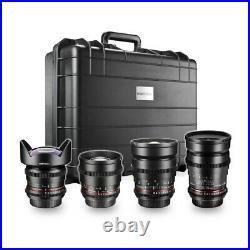 Walimex pro Video Ww-Portrait Set 4x Canon Ef By Studio-Ausruestung