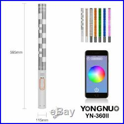 YONGNUO YN360II RBG Handheld LED Studio Video Light For Nikon D5600 D5500 D3400