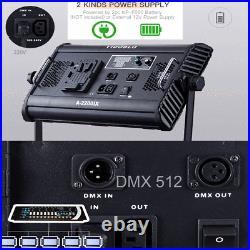 Yidoblo 70W A2200IX CRI 93+ LED Panel/Barndoor/LCD Display Video Studio Lighting
