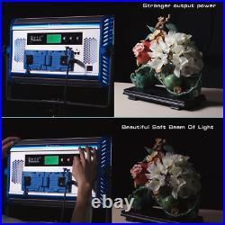 Yidoblo Adjustable Bi-color LED Studio Soft Video Light Panel 3200K-5500K Kit