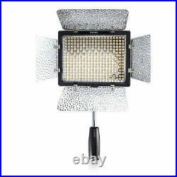 Yongnuo YN300 III YN-300 3200-5500K Studio LED Video Light Lamp + Adapter Power